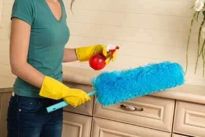 清潔完,乾淨的廚房照片